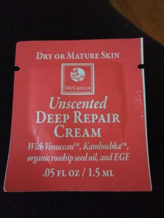 MyChelle Unscented Deep Repair Cream Sample #2