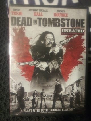DEAD IN TOMBSTONE FACTORY SEALED