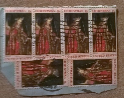 UNITED STATES 6 Cent CHRISTMAS STAMP