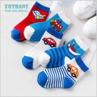 5 Pair/lot Baby Boy Socks Newborns Cotton Summer Aumtumn Cartoon Socks Infant Toddle Socks Kids Sh