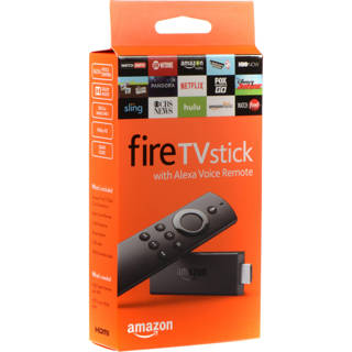 NEW Amazon Fire TV Stick with Alexa Voice Remote   Streaming Media Player FREE SHIPPING