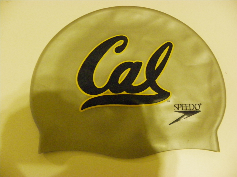 Free California Bears Swim Cap Other Sporting Goods