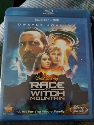 Race to witch mountain blu ray unopened