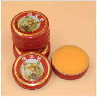 5pcs/lot Chinese Tiger Muscle Massager Relax Essential Oil Magic Balm