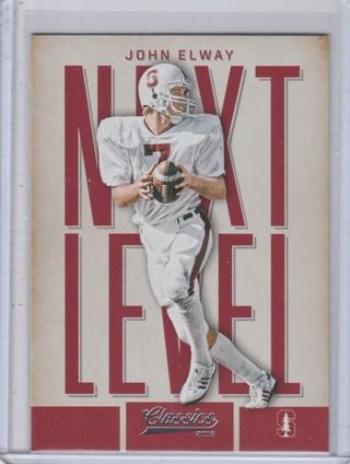 John Elway - 2016 Panini Classics ~ Next Level Insert Card / Denver Broncos