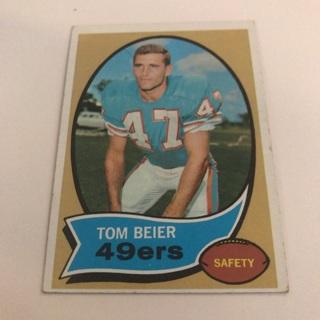 1970 Topps Tom Beier Card