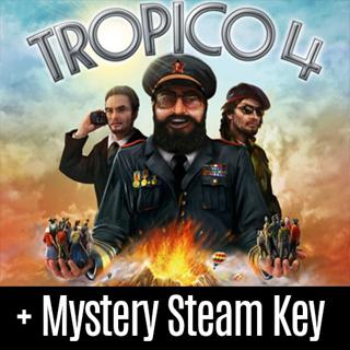 Tropico 4: Steam Special Edition (Steam Key) + Mystery Steam Key