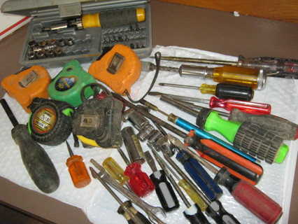 Lot Box Tools  See Pix REDUCED