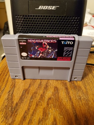 Ninja Warriors SNES Reproduction
