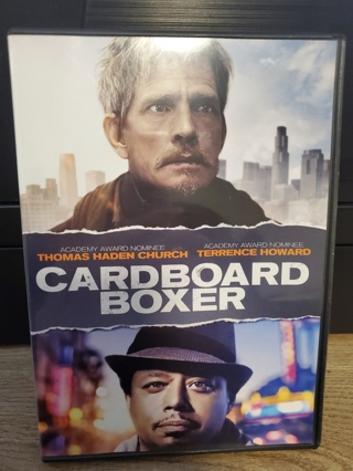 """DVD - """"Cardboard Boxer"""" - not rated"""