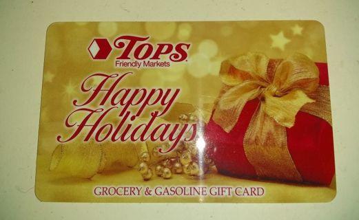 TOPS Gift Card!!! $3.59 ꒰⑅ᵕ༚ᵕ꒱˖♡