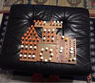 Wooden Peg Games