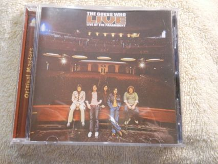 cd-the guess who-live at the paramount-2000-used-ex-rock