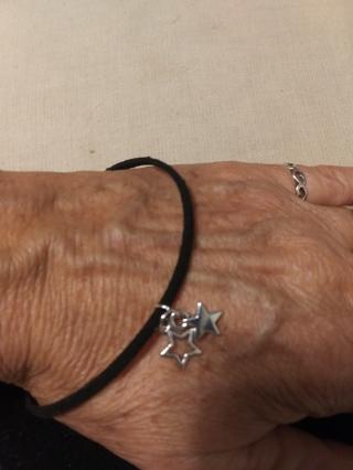 """New!  Celestial Tibetan silver stars bracelet 8"""""""