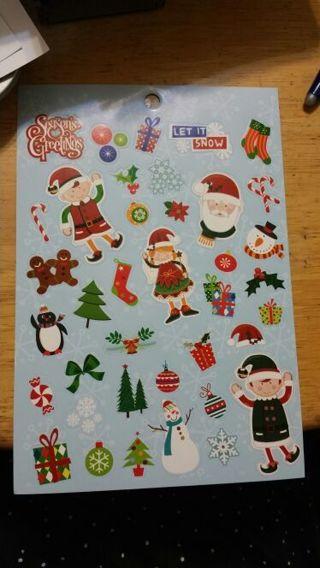 Christmas Stickers # 271