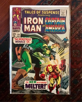 Tales of Suspense #89 12 cent Cover Silver Age
