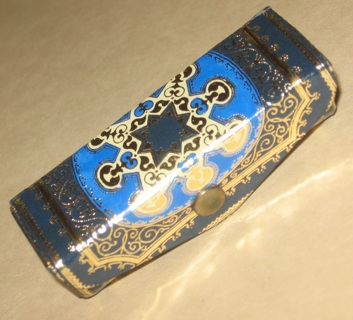 vintage lipstick case w/ mirror made in italy