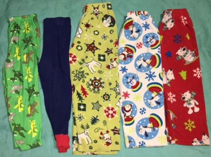 Huge lot of mixed Boys 4/4t Pajama tops & bottoms