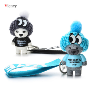Cute teddy bear keychain