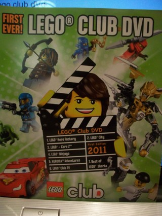 Lego Club DVD
