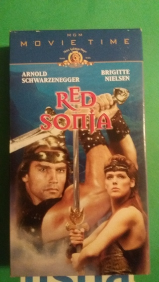 vhs red sonja free shipping