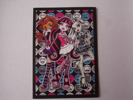 New 2013 Monster High PANINI sticker #20