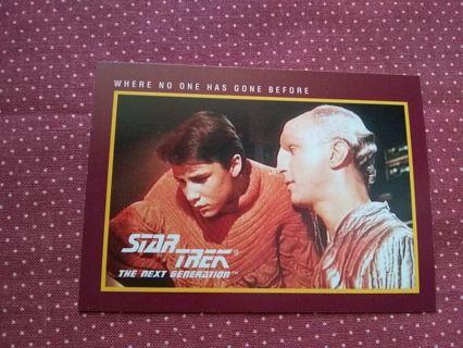 Star Trek The Next GenerationTrading Card