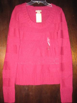 Two Cute Lightweight Women's/Juniors Sweaters Size L NWT & Sz M NWOT!