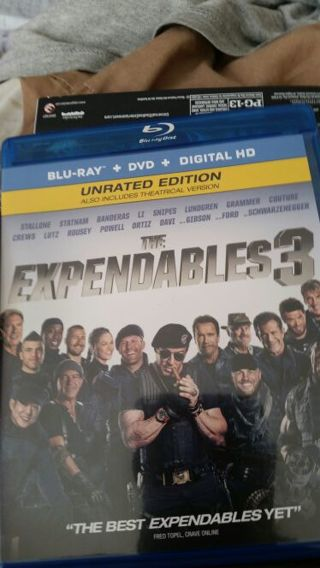 The expendables 3 vudu code
