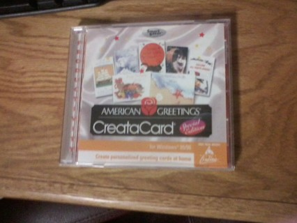 Free american greetings creatacard special edition software american greetings creatacard special edition software m4hsunfo