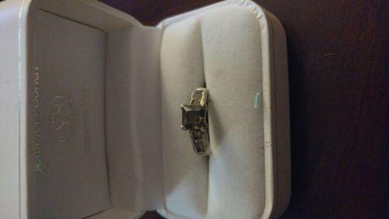 Sterling silver ring wearable/ needs repair