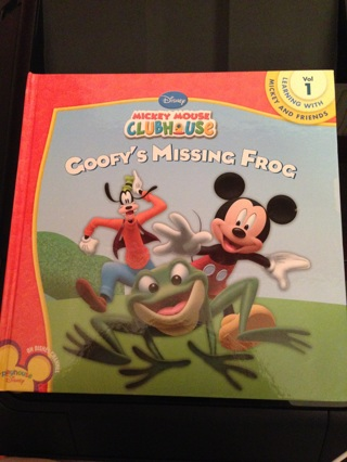 Disney Mickey Mouse Clubhouse Goofys Missing Frog