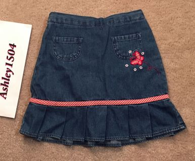 NEW Skirt Scooter Blue Jean Skirt FREE SHIPPING