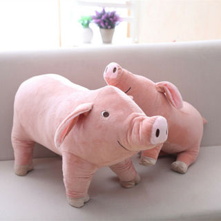 25cm Plush Cartoon Pig Toy Soft Stuffed Doll Kids Baby Gift Home Decor Boil