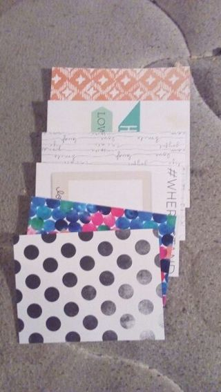 6 journal cards #3