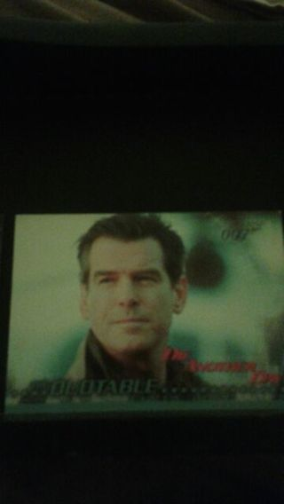Die Another Day trading cards