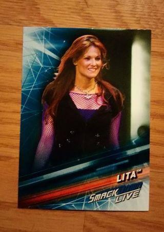 WWE 2019 Smackdown Live Lita Card