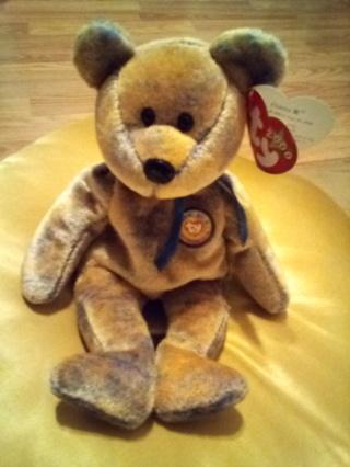 TY Beanie Baby 2001 CLUBBY III