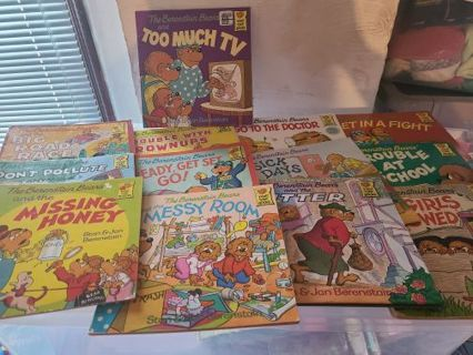 The Berenstain bears book lot