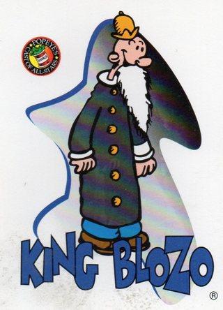 1994 Popeye Comics Collectible Trade card: King Blozo