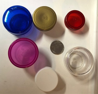 6 Small Containers