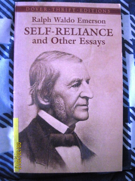 ralph waldo emerson self reliance and other essays book