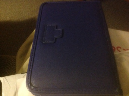 LENONO FLEMATE BLUE IPAD COVER