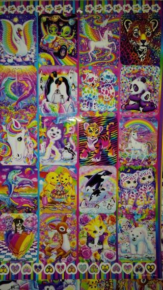 **30** LISA FRANK Sticker's! #4