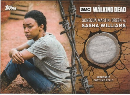 The Walking Dead 2017 ~Sonequa Martin as Sasha Williams, Genuine Show Worn Costume SP