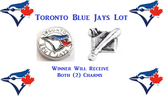 ⚾⚾⚾ Toronto Blue Jays Lot ⚾⚾⚾ Living Locket Charm(s) ☆VERIFIED USERS ONLY PLEASE☆
