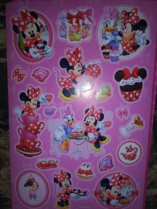 Minnie mouse one sheet cute stickers new Lowest gins! Please be honest !! No refunds!