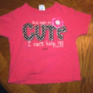 Girls 4t Shirt FREE Shipping!