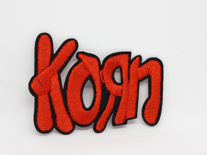 Korn - Logo - Iron On Patch NU METAL Groove Metal rock dubstep free shipping