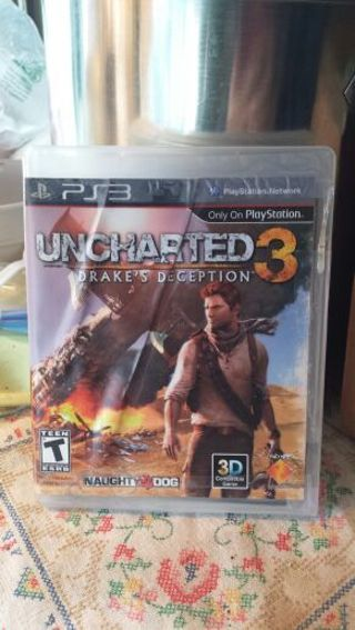 Uncharted 3 Drake's Deception PS3 (See photos)